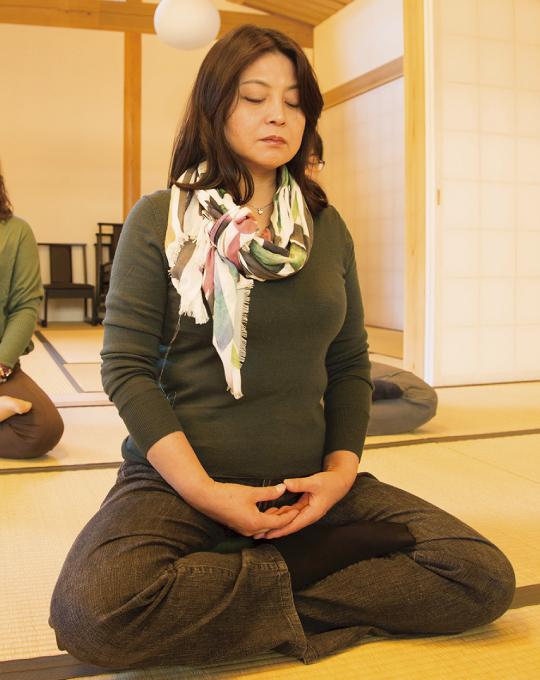 Ajikan meditation