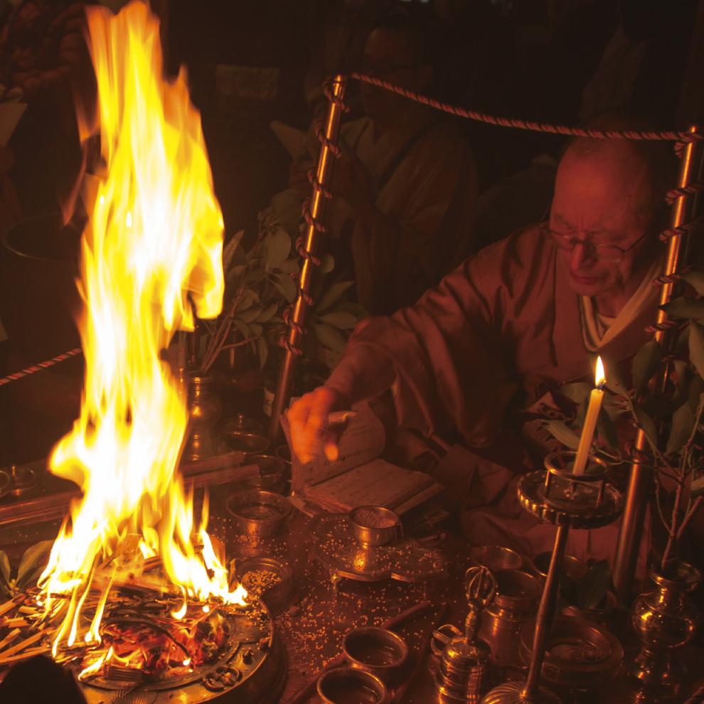 Prayer/memorial services for ancestral spirits